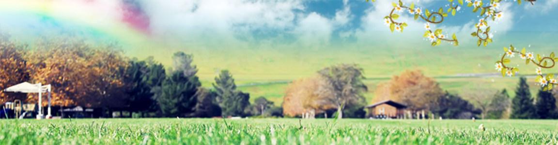 美丽景色淘宝海报背景高清背景图片素材下载