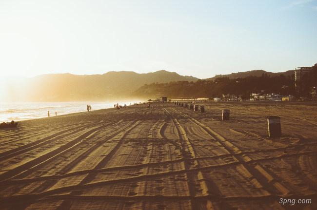 海滩高清背景背景高清大图-高清背景城市建筑