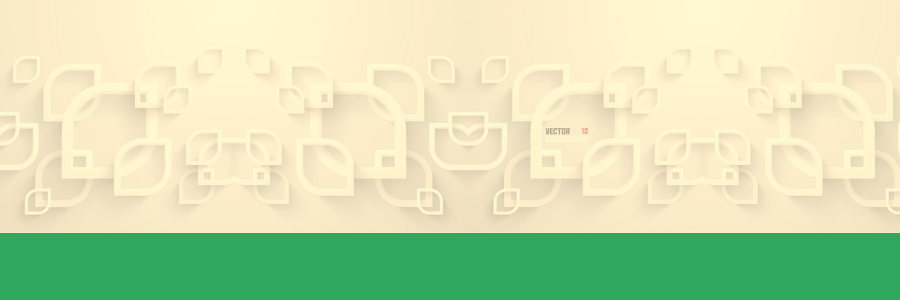 白色简约3D立体墙背景banner