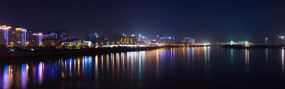 都市夜晚淘宝海报背景高清背景图片素材下载