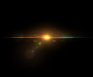 镜头光晕光线渲染光效