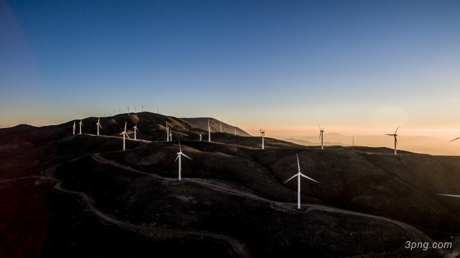 风能发电背景高清大图-风能背景自然/风光
