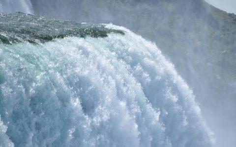 大瀑布背景
