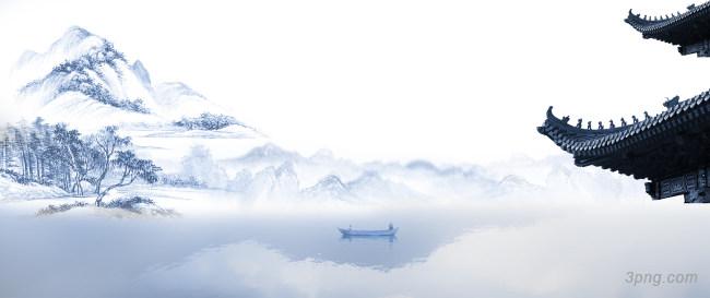 中国风水墨山水背景背景高清大图-墨山背景自然/风光