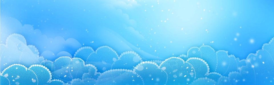 梦幻蓝色背景