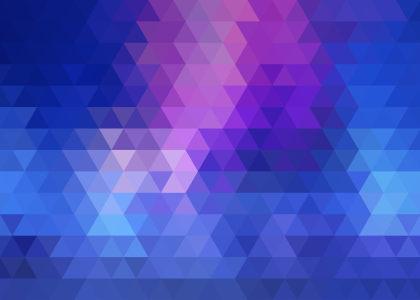 彩色三角形背景