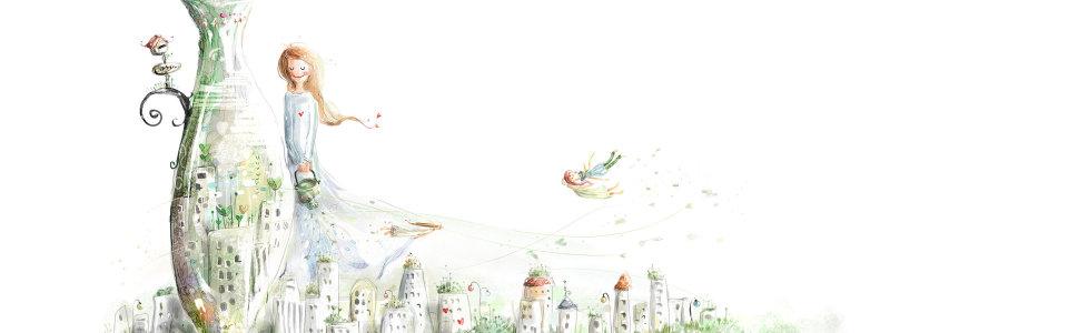 卡通可爱背景