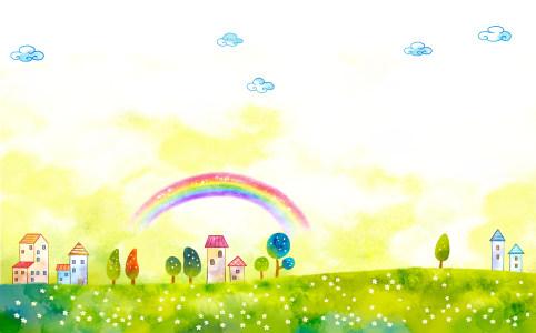 61儿童节背景PSD分层高清背景图片素材下载