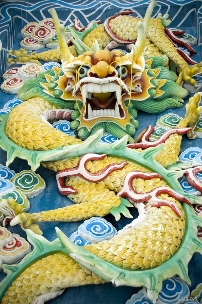 中国龙图案底纹背景高清大图-底纹背景底纹/肌理