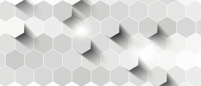 白色几何菱形炫酷背景banner高清背景图片素材下载