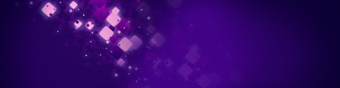 紫色梦幻几何海报背景