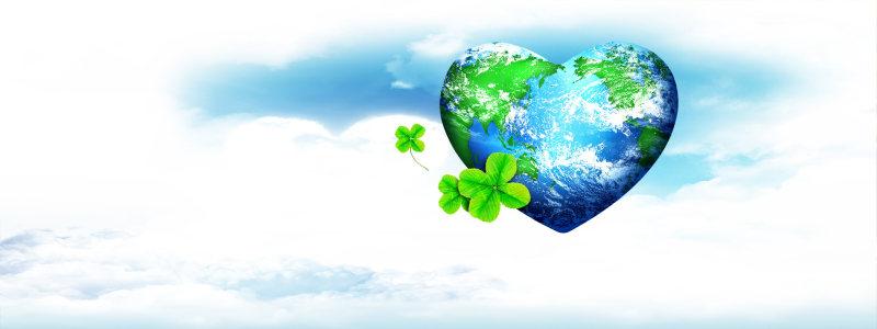 绿色星球背景