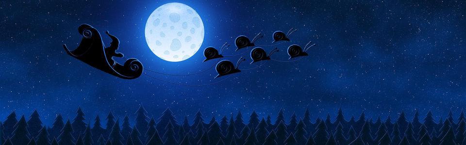 月亮星空淘宝海报