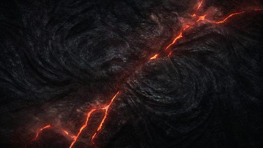 火山爆发高清背景图片素材下载