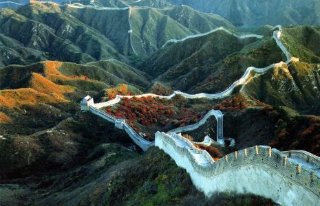 八达岭长城高清背景图片素材下载