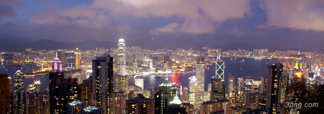香港banner创意设计背景高清大图-香港背景Banner海报