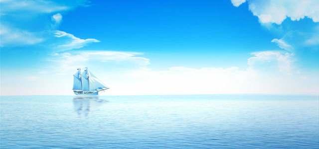 夏季海面风景