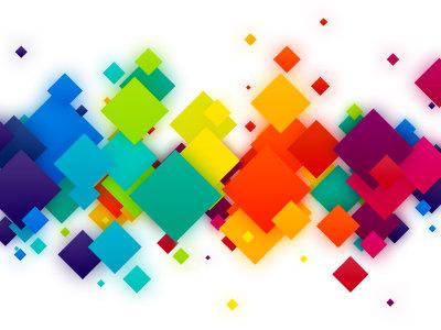 彩色方块背景高清背景图片素材下载