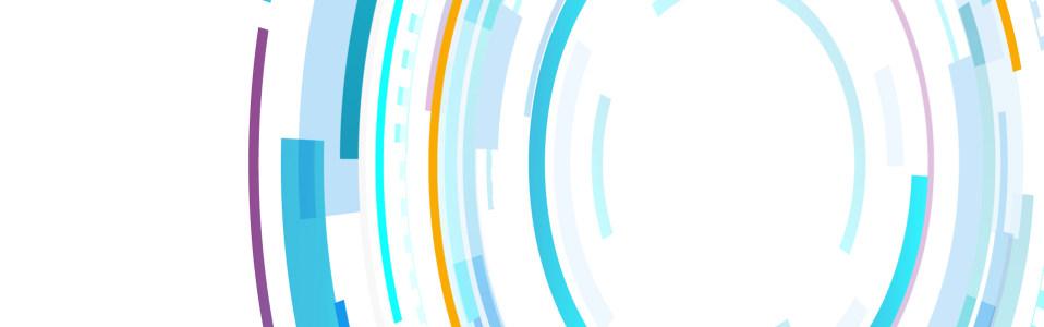 彩色动感曲线背景