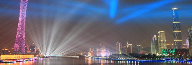 城市夜景banner背景高清大图-夜景背景Banner海报
