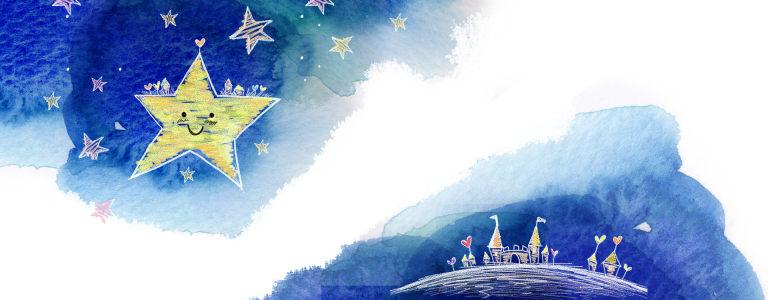 星星背景banner