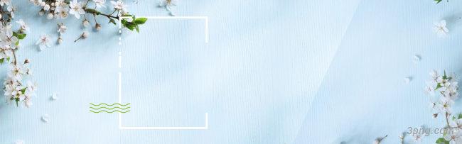 清新蓝色淘宝背景背景高清大图-淘宝背景底纹/肌理