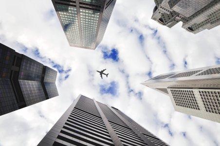 飞机高清背景
