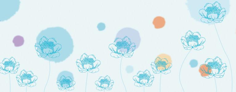 花卉植物banner背景高清背景图片素材下载