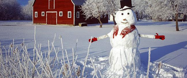 冬季 雪人 背景背景高清大图-雪人背景人物