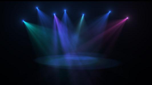 舞台射灯灯光背景