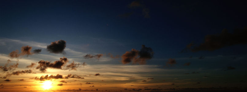 夕阳乌云海报背景高清背景图片素材下载