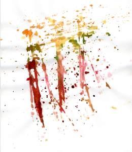 水彩墨痕墨迹背景高清背景图片素材下载