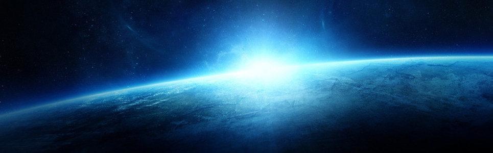 星际互联网商务科技banner背景