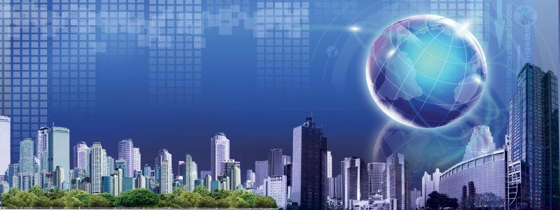 科技地球背景
