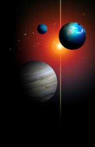 宇宙太空探索背景