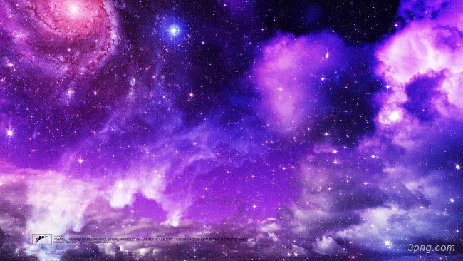 紫色星空背景背景高清大图-紫色背景高光/光斑/星空