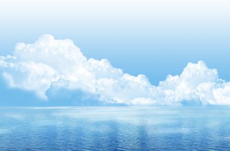 大海海洋高清背景图片素材下载