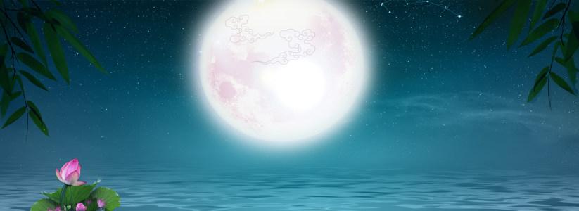 夜晚星空淘宝背景