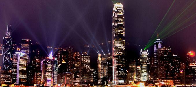 城市商务夜景大气banner壁纸