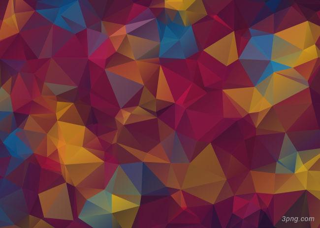 彩色几何背景背景高清大图-几何背景扁平/渐变/几何