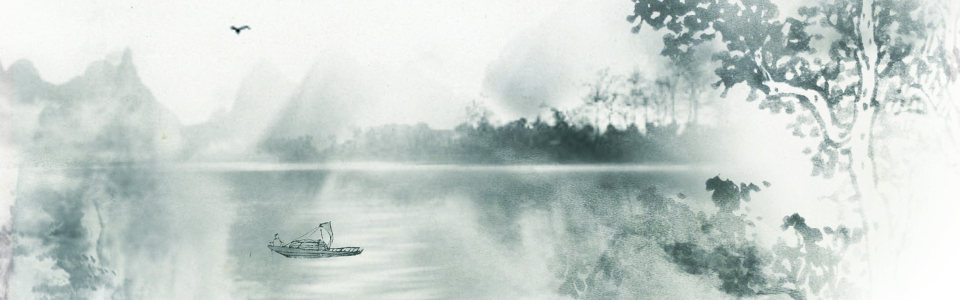 水墨画高清背景图片素材下载