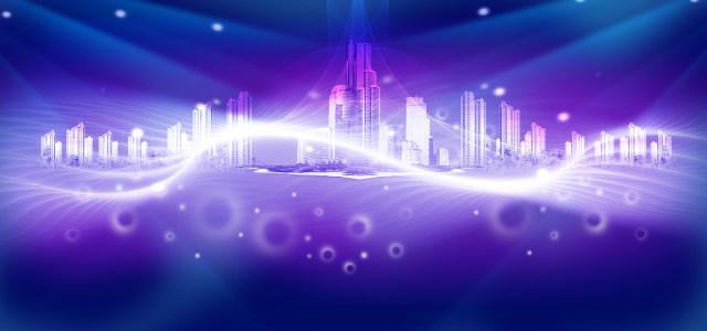 商务城市背景高清背景图片素材下载