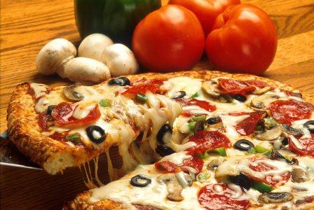 披萨高清背景高清背景图片素材下载