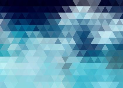 蓝色三角形背景高清背景图片素材下载