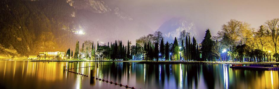 夜景摄影banner壁纸