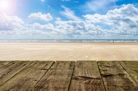 海滩风景背景高清背景图片素材下载