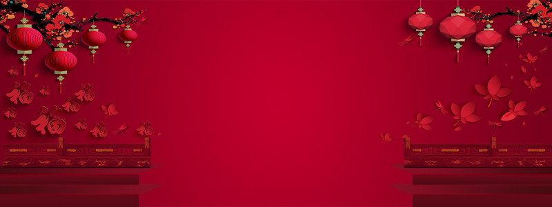 春节海报高清背景图片素材下载