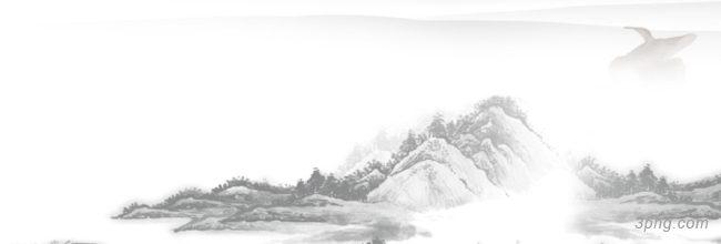 水墨banner背景高清大图-水墨背景Banner海报