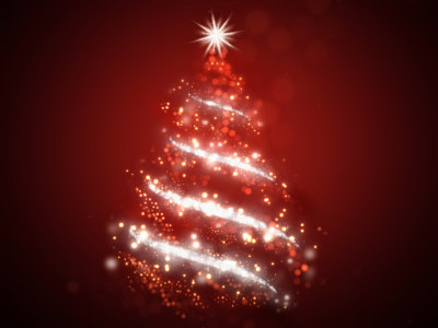 圣诞树的背景