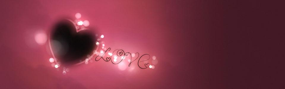 创意爱心情人节海报背景